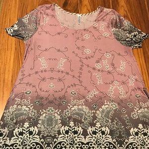 💋Women's Paisley Grace Short sleeve Dress size L